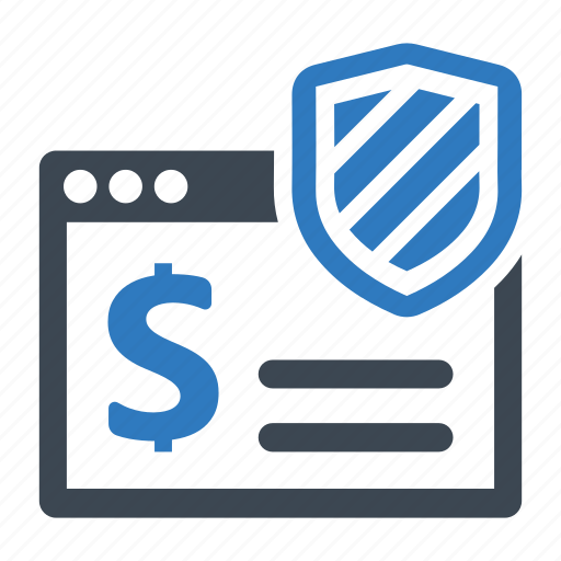 online banking, secure payment, security icon