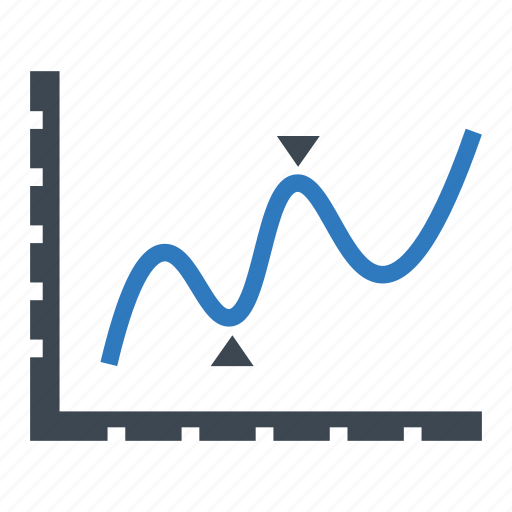 analytics, graph, sales icon