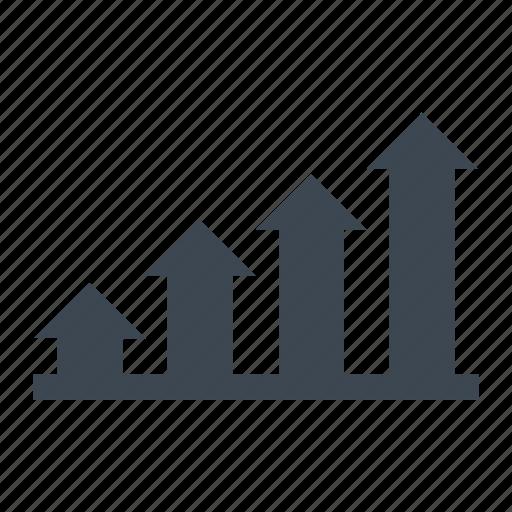 analytics, chart, sales icon