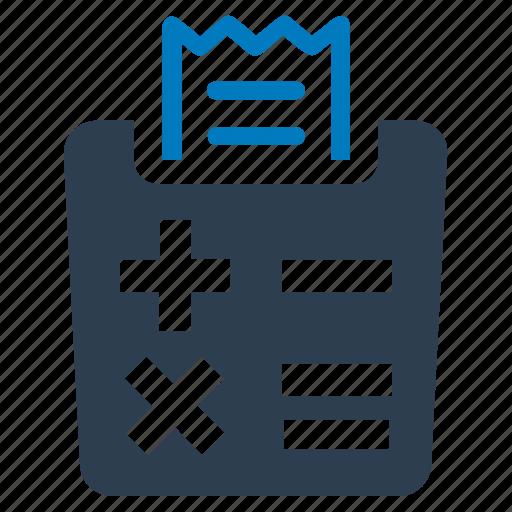 Calculator, receipt, tax calculator icon - Download on Iconfinder