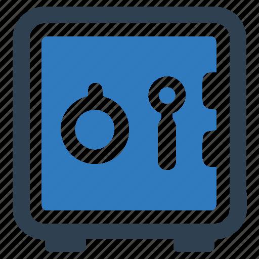 bank locker, bank vault, locker, safe box icon