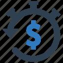 budget, clock, deposit, money, return on investments
