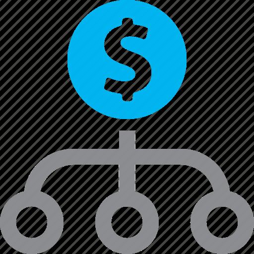 business plan finance financial plan icon