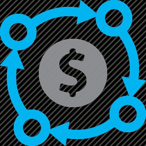 business plan, financial plan, planning icon