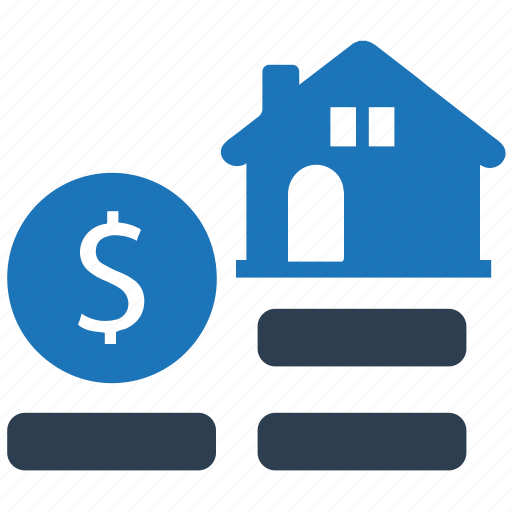 home loan, loan, mortgage, property, real estate icon