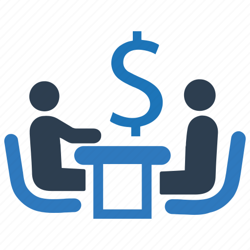 discussion, finance, financial discussion, financial meeting, financial team icon