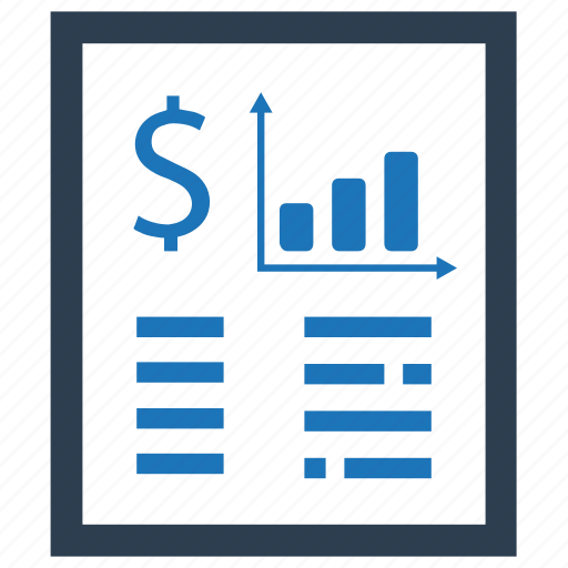 budget, document, financial, financial report, financial statement, report, stocks icon
