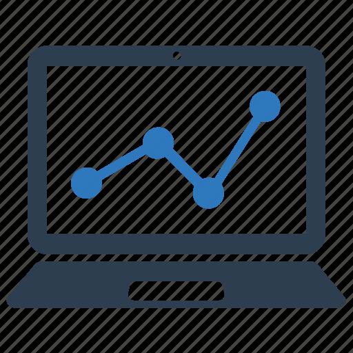 analysis, analytics, graph, monitor, report, statistics, traffic icon