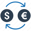 currency conversion, currency exchange, foreign exchange, money conversion, money exchange icon