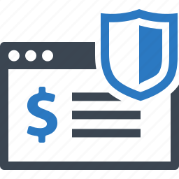 internet banking, protection, safe, secure payment, shield icon