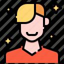 avatar, clean, hygiene, hygienic, man icon