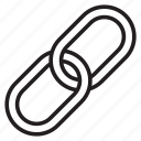 chain, link, reference icon
