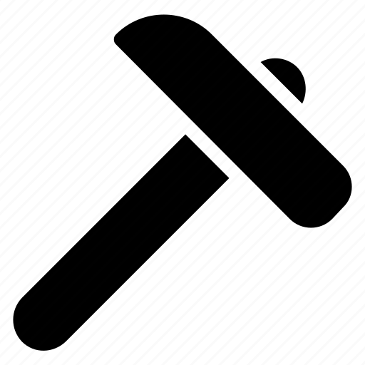 hammer, settings, strike hammer, tool, weapon icon