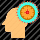 brain, head, human, mind, thinking, time