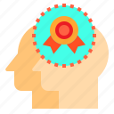 brain, couple, head, human, mind, thinking, trophy icon