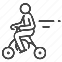 bicycle, folding, personal, scooter, transport, transportation