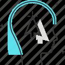 arrow, avatar, click, computer, cursor, female, woman icon