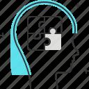 avatar, female, problem, puzzle, solving, woman icon