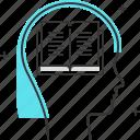 avatar, book, female, learn, read, school, woman icon