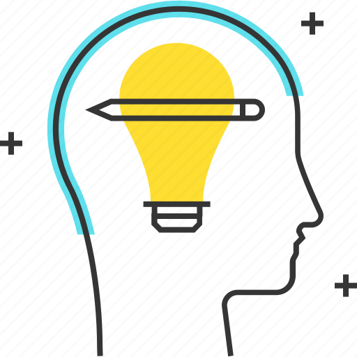 avatar, creativity, idea, male, man icon