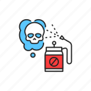 pest, control, pesticide, spraying icon