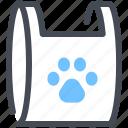 animal, bag, dog, food, pet, pets icon