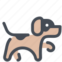 animal, dog, pet, training icon