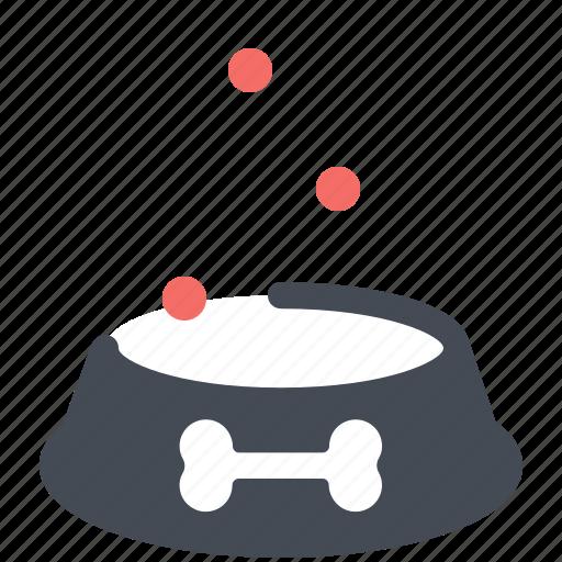 bowl, food, pet, shop icon