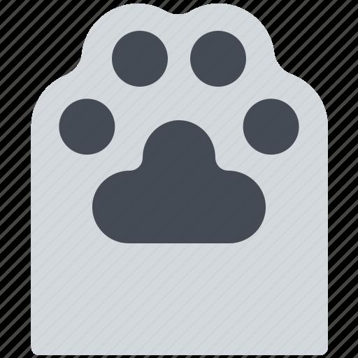 animal, cat, footprint, paw, pet icon