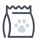 bag, food, pet icon