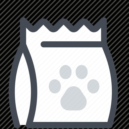 bag, food, pet icon