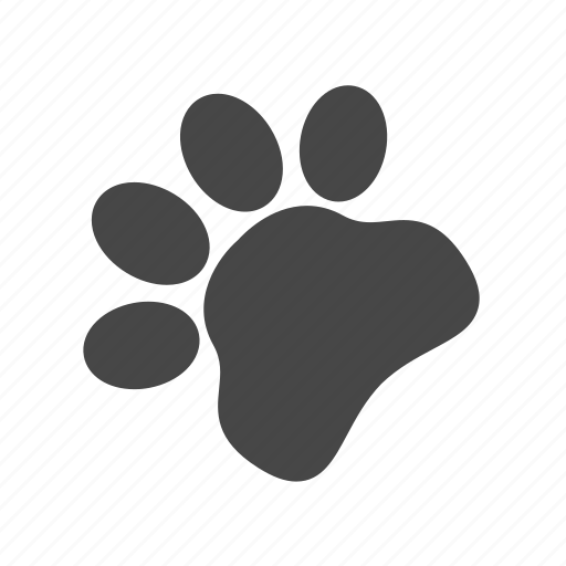 animal, dog, foot, pet icon