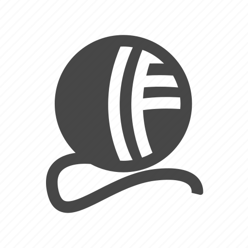 ball, knitting, thread, yarn icon
