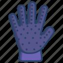 finger, deshedding