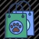 pet, shopping