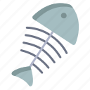 fish, bone