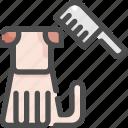 animal, beauty, comb, dog, grooming, pet, shop