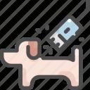 animal, cut, dog, grooming, hair, pet, shop icon