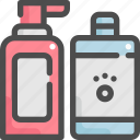 animal, bath, clean, grooming, pet, shampoo, shop icon
