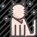 animal, cat, clean, grooming, hygiene, pet, shop icon