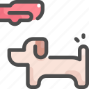 animal, care, dog, glove, grooming, pet, shop icon