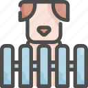 animal, cage, dog, grooming, home, pet, shop icon