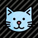 pet, shop, cat, petshop, animal, head