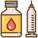 animal, care, pet, shop, store, syringe, vaccine icon