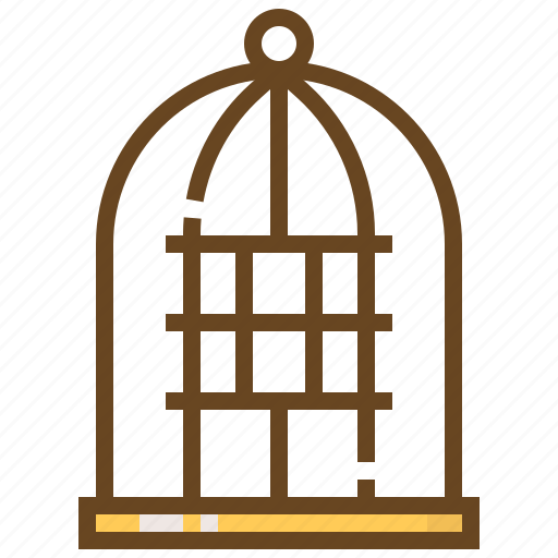 animal, bird, cage, care, pet, shop, store icon