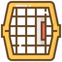 animal, cage, care, dog, pet, shop, store icon