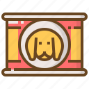 animal, care, dog, food, pet, shop, store icon