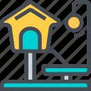 cat, house, pet, playhouse icon