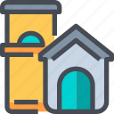animal, cat, dog, house, pet icon