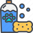 pet, pet store, petshampoo, water icon